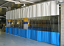 PVC Industrial Curtains