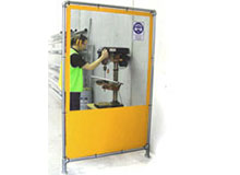 PVC Partitioning Screens